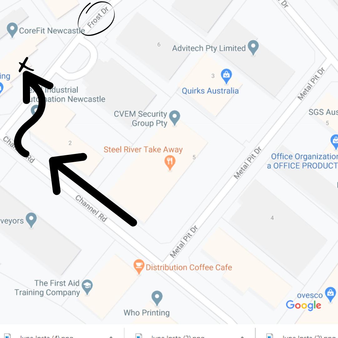 Map Image on location